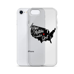 One Nation Under God iPhone Case