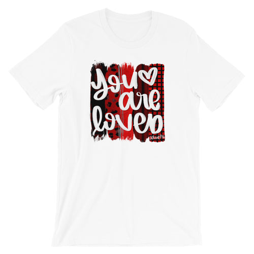 You Are Loved Valentine Short-Sleeve Women's T-Shirt