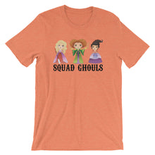 Squad Ghouls Halloween Witches Short-Sleeve Women's T-Shirt