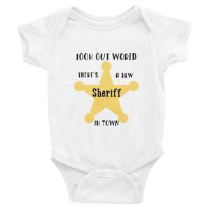 New Sheriff in Town Infant Bodysuit