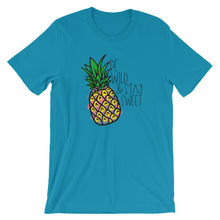 Stay Sweet Pineapple Short-Sleeve Unisex T-Shirt