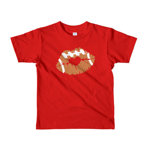 Football Lips Short sleeve kids t-shirt