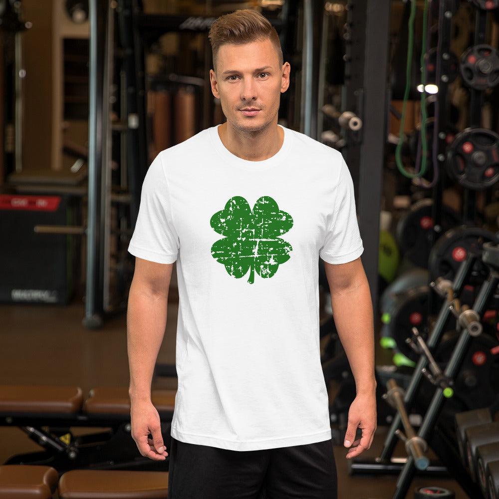 Shamrock Short-Sleeve Men's T-Shirt