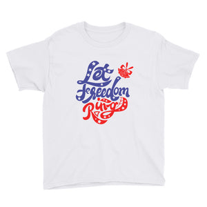 Let Freedom Ring Youth Short Sleeve T-Shirt