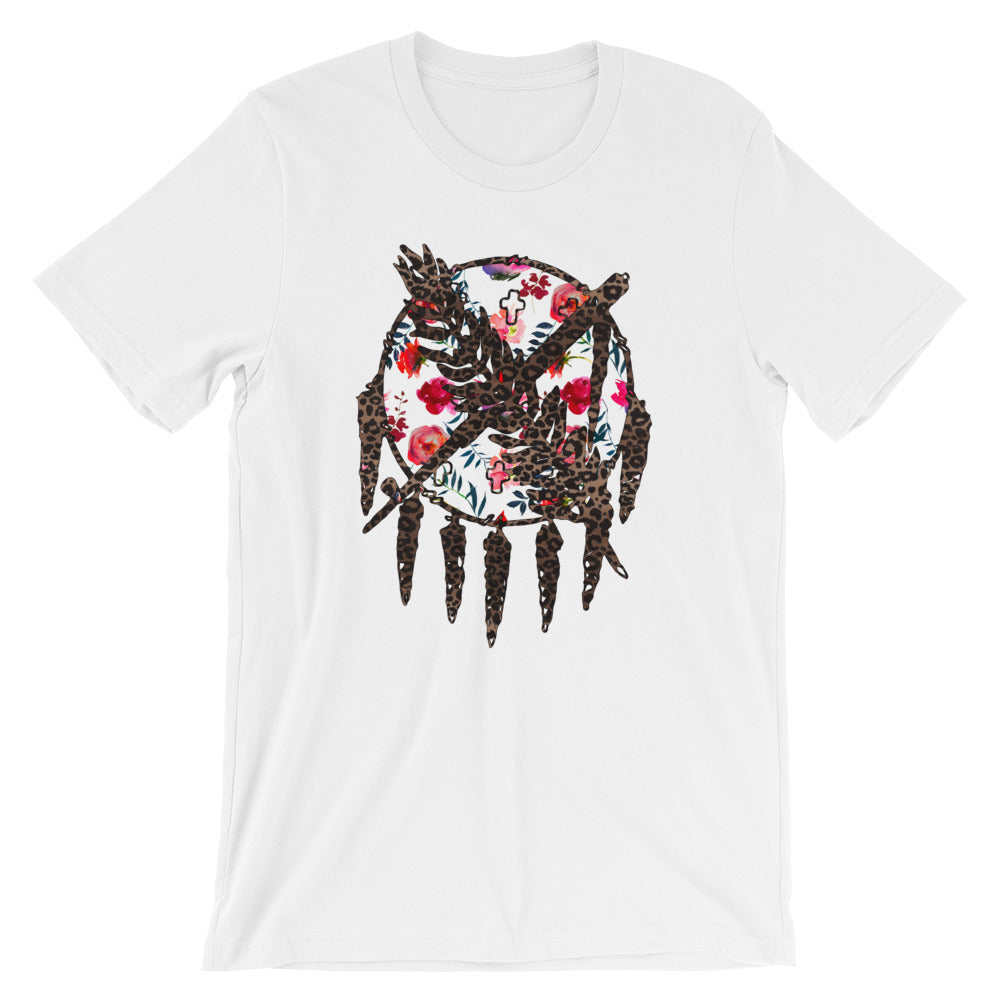 Oklahoma Warrior Shield Short-Sleeve Unisex T-Shirt