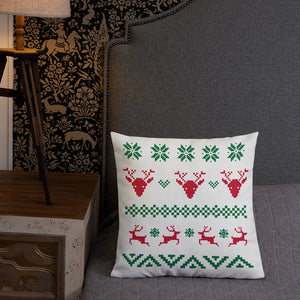 Ugly Christmas Sweater Premium Pillow