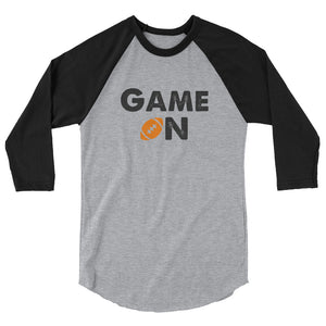 Game On Football Unisex 3/4 sleeve Raglan shirt