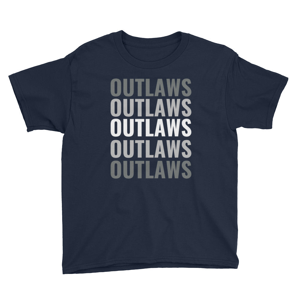 Outlaws Youth Short Sleeve T-Shirt