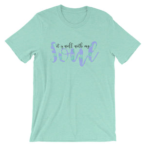 It is Well with My Soul Short-Sleeve Women's T-Shirt