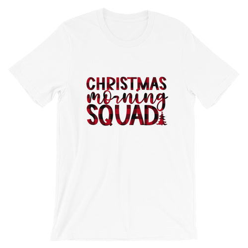 Christmas Morning Squad Short-Sleeve Unisex T-Shirt