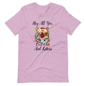 Cool Cats and Kittens Short-Sleeve Women's T-Shirt