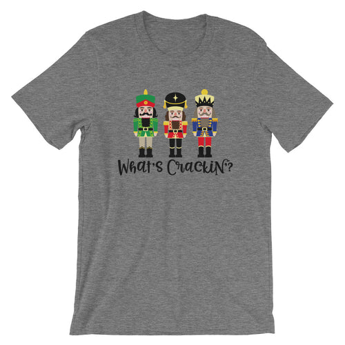 What's Crackin Nutcracker Short-Sleeve Mens T-Shirt
