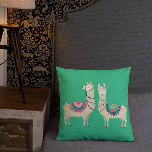 Alpaca Polka Dot Premium Pillow