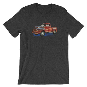 Vintage USA Truck Short-Sleeve Men's T-Shirt