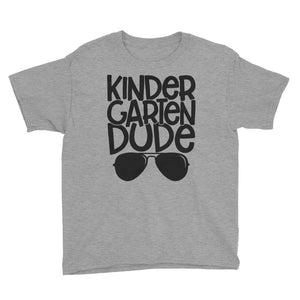 Kindergarten Dude Kids Short Sleeve T-Shirt