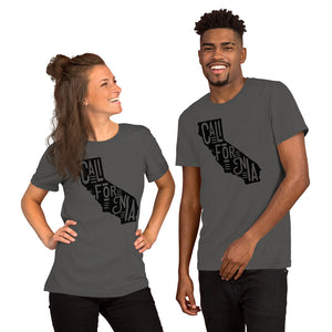 California State Short-Sleeve Unisex Men's T-Shirt