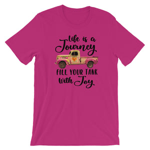 Life is a Journey Short-Sleeve Women's T-Shirt