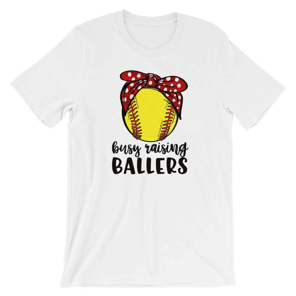 Busy Raising Ballers Short-Sleeve T-Shirt