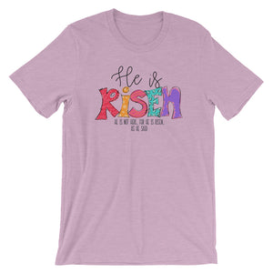 He is Risen Short-Sleeve Women's T-Shirt