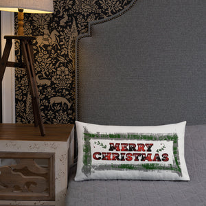 Merry Christmas Premium Pillow
