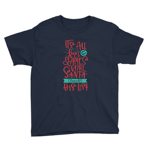 It's All Fun and Games Youth Short Sleeve T-Shirt
