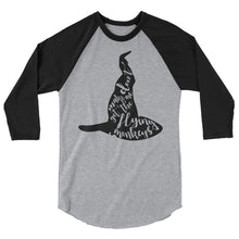 """Don't Make Me Get My Flying Monkeys 3/4 sleeve Women's raglan shirt"
