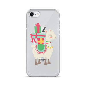 Christmas Llama iPhone Case