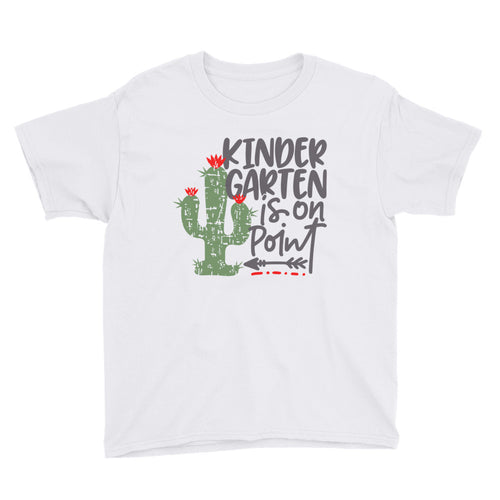 Kindergarten is on Point Kids Short Sleeve T-Shirt