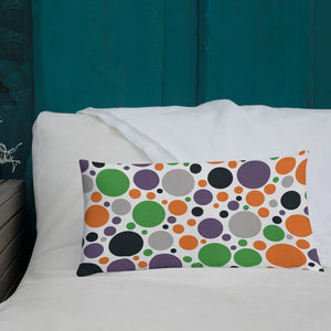 Boo! Halloween Accent Print Premium Pillow