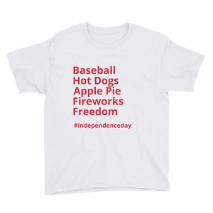 Independence Day Youth Short Sleeve T-Shirt