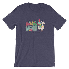 Fa La La La Llama Short-Sleeve Women's T-Shirt