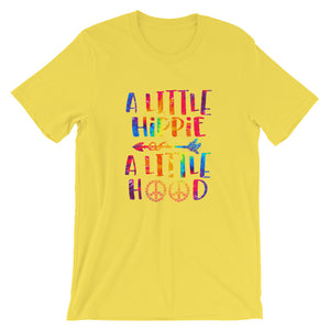 A Little Hippie a Little Hood Short-Sleeve Unisex T-Shirt