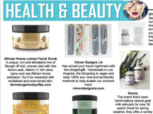 Health & Beauty Section