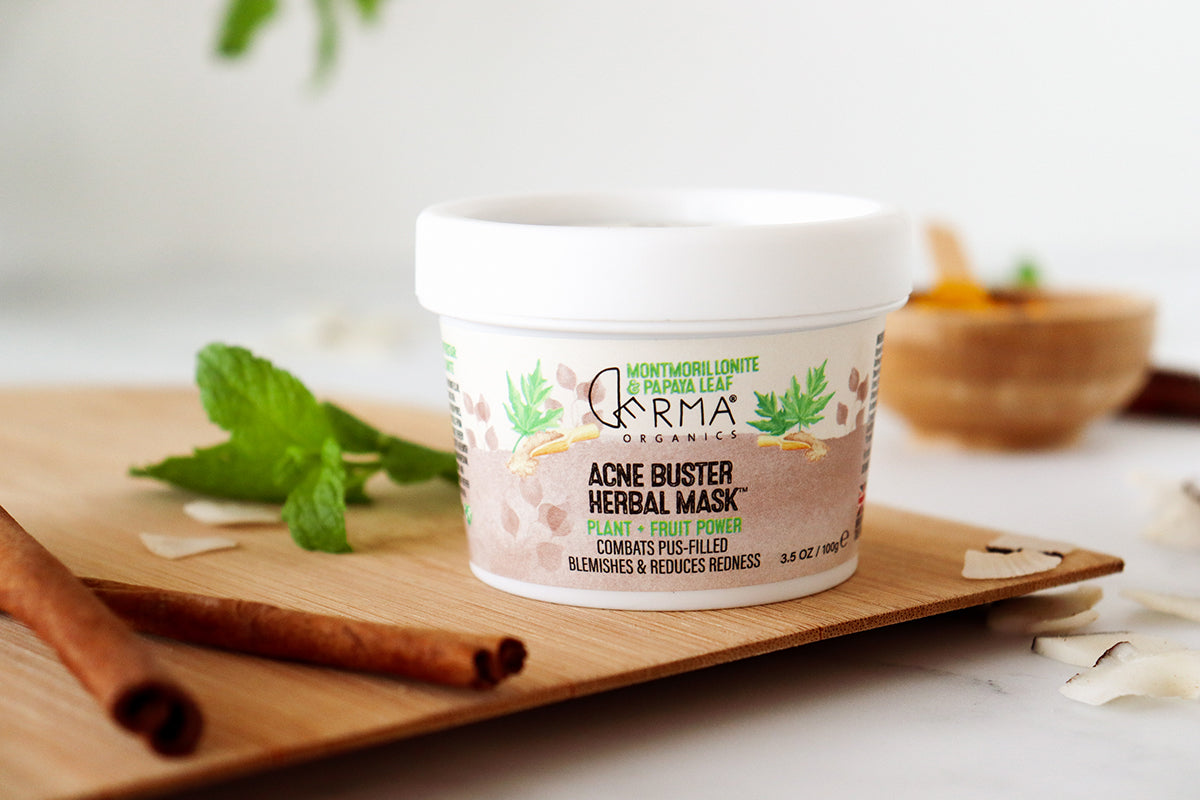 Derma Organics Acne Buster Herbal Mask