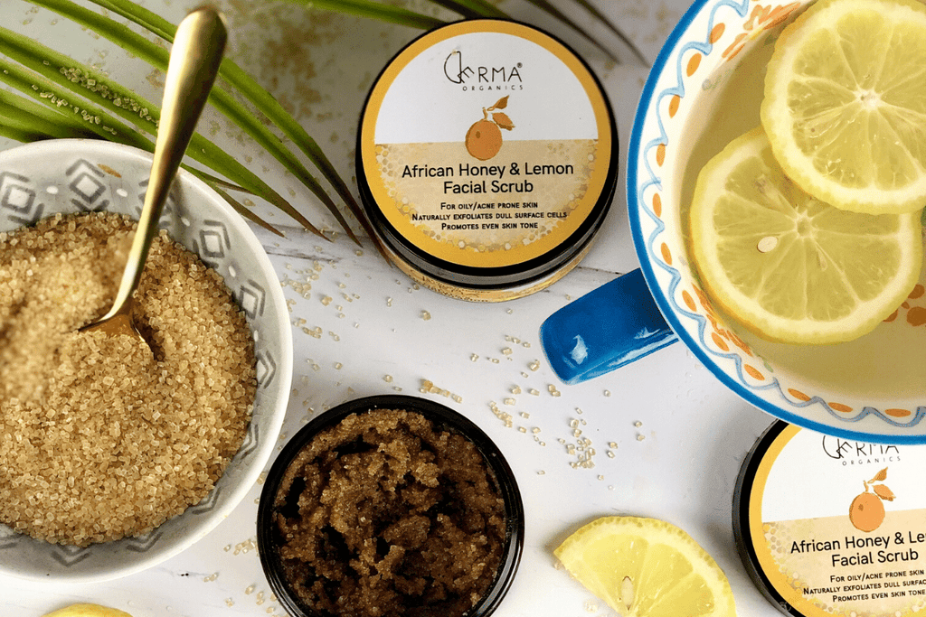 Derma Organics African Honey & Lemon Facial Scrub