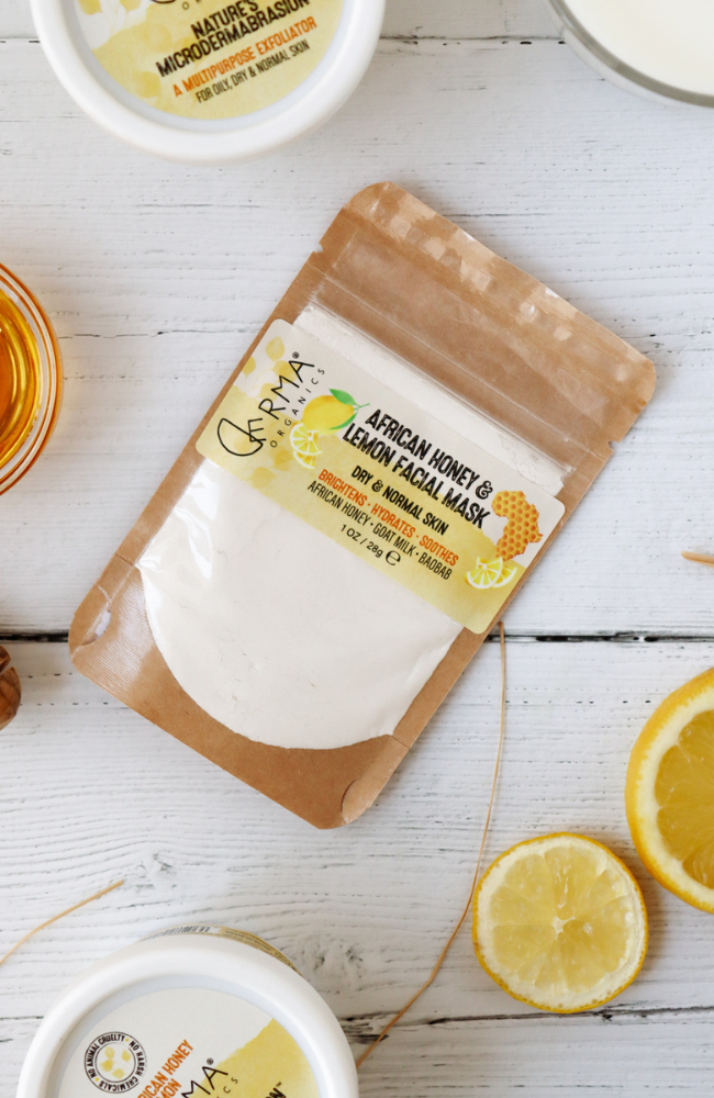Derma Organics African Honey & Lemon Facial Mask