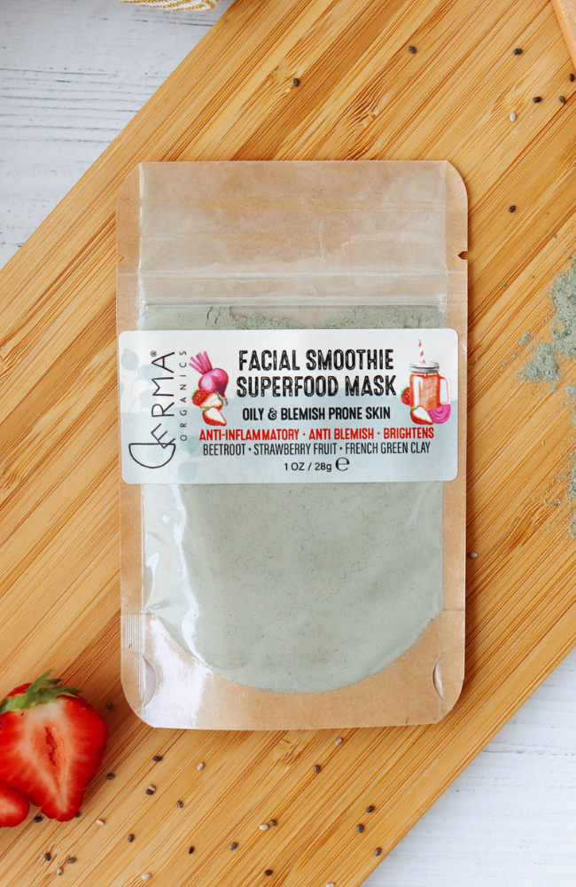 Derma Organics Facial Smoothie Superfood Mask