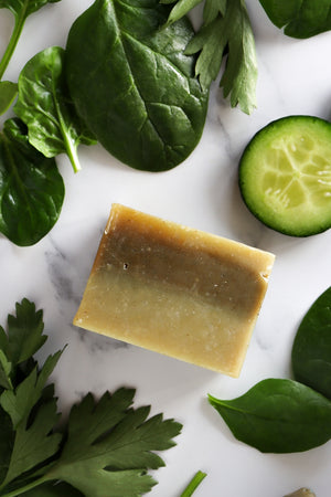 Bitter Leaf n' Spinach Soap