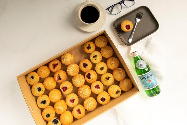 Mini Friands Selection (GF)