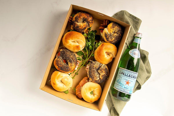Breakfast Bagel Box
