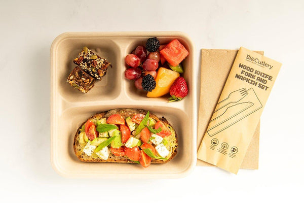 Brekkie Box (Vegetarian)