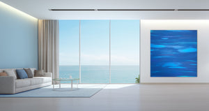 "Visions Blue » 72""W x 72""H"