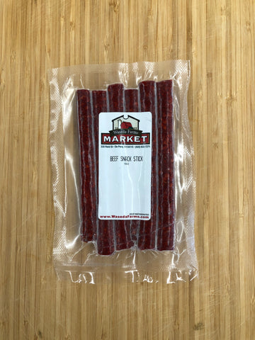 Beef Snack Sticks - Uncured - Certified Organic - Grass fed