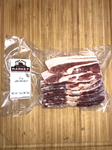 Pork Belly - Sliced - Organically Raised - Berkshire