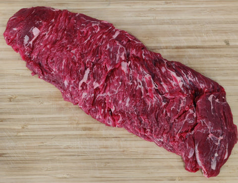 Beef Bavette Steak (Sirloin Flap)  - Certified Organic - Grass Fed
