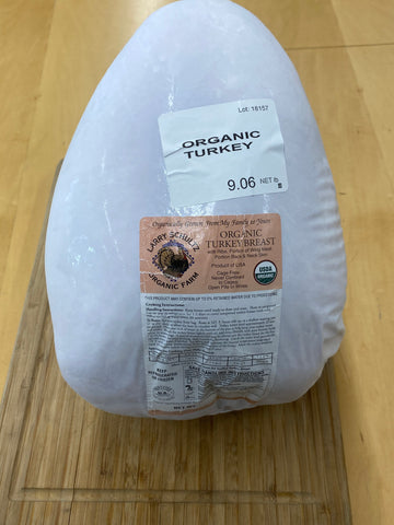 Turkey - Whole Turkey Breast - Certified Organic - Pasture Raised