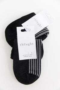 Thought Bamboo Ankle Socks in Black