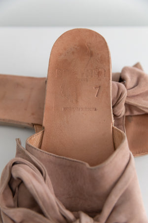 Brother Vellies Burkina Slides in Sahara Suede