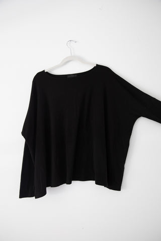 HATCH Black Longsleeve Tee
