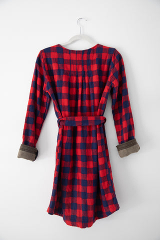 Ace & Jig Parker Dress in Houndstooth